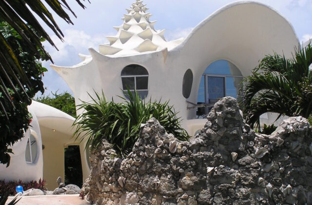 Isla Mujeres Conch Shell House Travel Dreams Magazine - Conch-shell-house