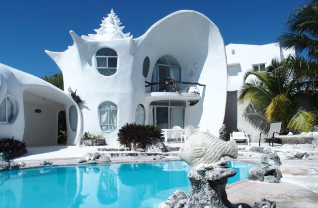 Shell House Of Isla Mujeres Travel Dreams Magazine - Conch-shell-house